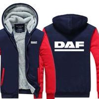 送料無料 高品質 DAF ダフ トラック   パーカー   スウェット   ウール ライナー ジャケット 海外限定  5