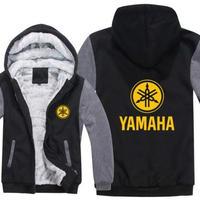 高品質 ヤマハ YAMAHAパーカー あったかい フリースパーカー ジップアップ  衣装 コスチューム 小道具 海外限定 非売品 映画グッズ 映画関連  17