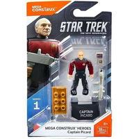 メガブロック Mega Bloks メガブロックス おもちゃ Star Trek Mega Construx Heroes Series 1 Captain Picard Set FND65