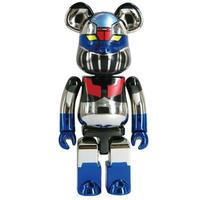 ベアブリック メディコム フィギュア・おもちゃ Medicom Medicom Mazinger Z 200% Chogokin Bearbrick Super Alloy