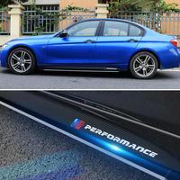 BMW M パフォーマンス サイドストライプ スカートステッカー ビニールデカール f30 f31 f15 f85 e60 e61 f22 f23 f10 f11 f0102 h00012