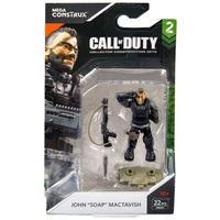 """メガブロック Mega Bloks メガブロックス おもちゃ Call of Duty Mega Construx John """"Soap"""" Mactavish Set FMG01"""