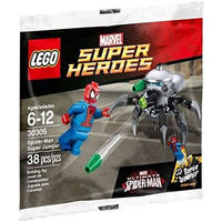 スパイダーマン Spider-Man レゴ LEGO おもちゃ Marvel Super Heroes Ultimate Super Jumper Set #30305 [Bagged]