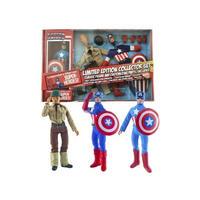 """マーベル ダイアモンド セレクト DIAMOND SELECT TOYS Captain America 8"""" Retro Figure Set Limited Edition"""