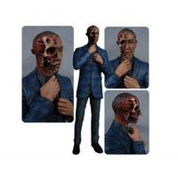 """ブレイキング バッド メズコ MEZCO TOYZ Breaking Bad 6"""" Gus Fring Figure - Burned Face Exclusive"""