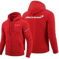 高品質 マクラーレン McLaren ロゴ ジップアップ パーカー 衣装 コスチューム 小道具 海外限定 非売品 映画グッズ 映画関連  レッド