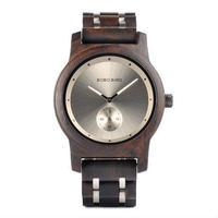 ボボバード【BOBO BIRD】4色展開  木製腕時計 クォーツ 木の温もり 自然に優しい天然木 スタイリッシュ