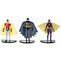 ディーシー マテル MATTEL Batman Classic 1966 TV Figure Three Pack