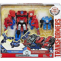 トランスフォーマー  ハズブロ フィギュア  Robots in Disguise Activators Optimus Prime & Hi-Test  [Combiner Force]