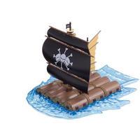 ワンピース バンダイ BANDAI JAPAN One Piece Grand Ship Collection Marshall D Teach's Ship Model Kit