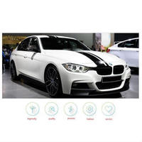 BMW サイドスカート ステッカー ストライプ フードルート トランク ボンネット デカール ビニール F30 E90 E92 E93 h00013