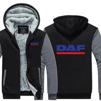 送料無料 高品質 DAF ダフ トラック   パーカー   スウェット   ウール ライナー ジャケット 海外限定  8