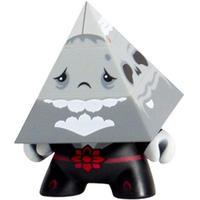 キッドロボット キッドロボット Kidrobot Kidrobot Pyramidun Dunny 3 Inch Figure - Andrew Bell