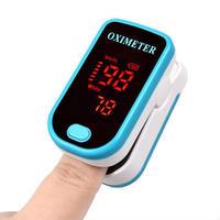 4カラー LED指先血中酸素濃度計Spo2モニター パルスオキシメーター