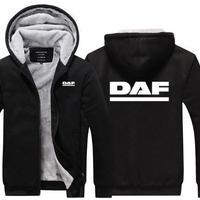 送料無料 高品質 DAF ダフ トラック   パーカー   スウェット   ウール ライナー ジャケット 海外限定  2