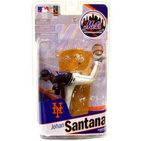マクファーレントイズ McFarlane Toys フィギュア おもちゃ MLB Sports Picks 2010 New York Mets Johan Santana