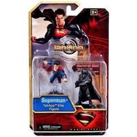 スーパーマン Superman ウィズキッズ WizKids フィギュア おもちゃ Man of Steel TabApp Elite & General Zod Figure 2-Pack