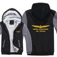 送料無料 高品質 ホンダ HONDA ゴールドウイング GL1800 レーシング パーカー スウェット バイク スクーター オートバイ 海外限定  9