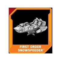 スターウォーズ ファシネイションズ FASCINATIONS Star Wars Episode VII Metal Earth Model Kit - First Order Snowspeeder