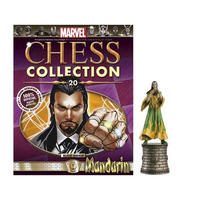 マーベル イーグルモスパブリケーションズ EAGLEMOSS PUBLICATIONS Marvel Chess Figure Collection #20 - Mandarin Black