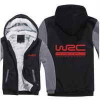 送料無料 高品質 WRC   パーカー 世界ラリー選手権 スウェット   ウール ライナー ジャケット 海外限定  4