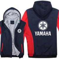 高品質 ヤマハ YAMAHAパーカー あったかい フリースパーカー ジップアップ  衣装 コスチューム 小道具 海外限定 非売品 映画グッズ 映画関連  2