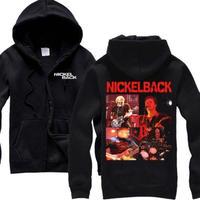 高品質   NICKELBACK ニッケルバック  ジップアップ パーカー 仮装 衣装 コスチューム 小道具 海外限定 17