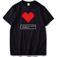 ゲームグッズ アンダーテール Undertale   ロゴ メッセージ Tシャツ 5