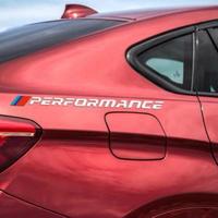 BMW ステッカー デカール Performance サイド ロゴ e46 e39 e90 f30 f34 f10 x5 x6 e60 f15 e36 e53 e34 h00053