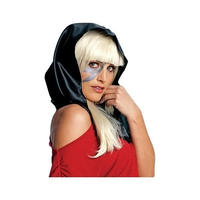レディーガガ ルービーズ Rubies Lady Gaga Black Headscarf Accessory