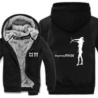 高品質デペッシュ·モード Depeche Mode フリースパーカー  スウェット 衣装 コスチューム 小道具 海外限定 5