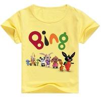 ビングバニー うさぎ  Bingバニー  子供 英語 アニメ Tシャツ キッズ服 アニメグッズ  Bunny  イエロー