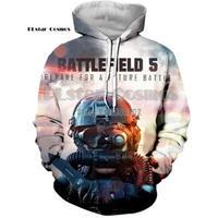 battlefield5  バトルフィールドⅤ 3Dデザイン パーカー  BF5 BFⅤ BFグッズ