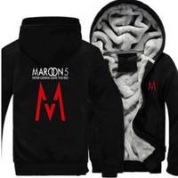 高品質 MAROON 5 マルーンファイブ  あったかいフード ジップ フリースパーカー 仮装 衣装 コスチューム 小道具 海外限定
