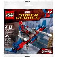 スパイダーマン Spider-Man レゴ LEGO おもちゃ Marvel Super Heroes Ultimate Glider Exclusive Mini Set #30302