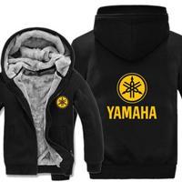 高品質 ヤマハ YAMAHAパーカー あったかい フリースパーカー ジップアップ  衣装 コスチューム 小道具 海外限定 非売品 映画グッズ 映画関連  14