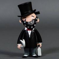 モノポリー BAIT x Monopoly Mr Pennybags 7 Inch Vinyl Figure - Standard Edition