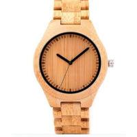 ボボバード【BOBO BIRD】 シンプル 木製腕時計 クォーツ 木の温もり 自然に優しい天然木 スタイリッシュ