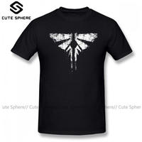 ラスト オブ アス  The Last of Us  シンプル ゲーム ロゴデザインTシャツ  ラスアス  ブラック