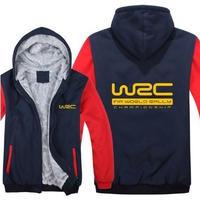送料無料 高品質 WRC   パーカー 世界ラリー選手権 スウェット   ウール ライナー ジャケット 海外限定  5