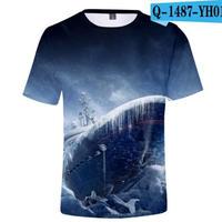 レインボーシックス シージ  ゲーミング 3Dプリント Tシャツ  半袖   Tom Clancy's Rainbow Six Siege R6S シージグッズ  1487