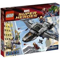 レゴ LEGO おもちゃ Marvel Super Heroes Avengers Quinjet Aerial Battle Set #6869
