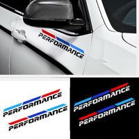 BMW ステッカー 2個入 Mパフォーマンス F30 F10 F20 E90 E60 E40 E36 E46 1 2 3 4 5 7 GT Z4 Xシリーズ ドア h00217