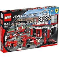 レゴ LEGO おもちゃ Racers Ferrari Finish Line Set #8672