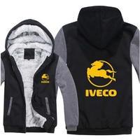 送料無料 高品質 Iveco  イヴェコ  パーカー スウェット  トラック イベコ  ウール ライナー ジャケット 海外限定  6