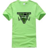 グランド・セフト・オート  Tシャツ gta5 シンプルロゴ グリーン
