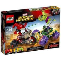 マーベル Marvel Super Heroes レゴ LEGO おもちゃ Avengers Hulk vs. Red Hulk Set #76078