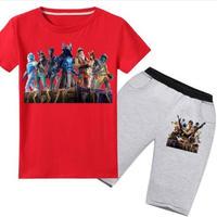 フォートナイト fortnite 子供服   Tシャツ+パンツのセット  ユニセックス カジュアル  パジャマ  3
