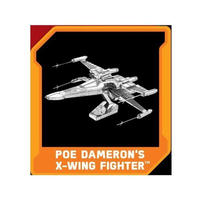 スターウォーズ ファシネイションズ FASCINATIONS  Episode VII Metal Earth Model Kit - Poe Dameron's X-Wing Fighter