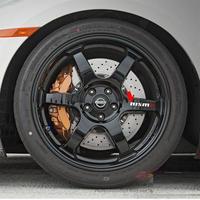 ニスモ ステッカー 日産 4個入 デカール タイヤ ティーダ シール h00397